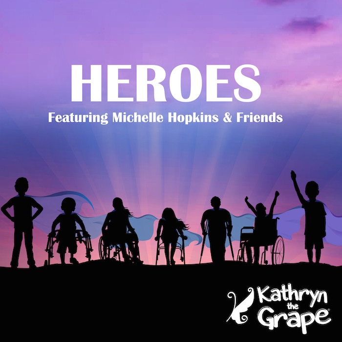 Heroes featuring Michelle Hopkins and Friends for MPS shared by Kathryn the Grape written by Kathryn Cloward