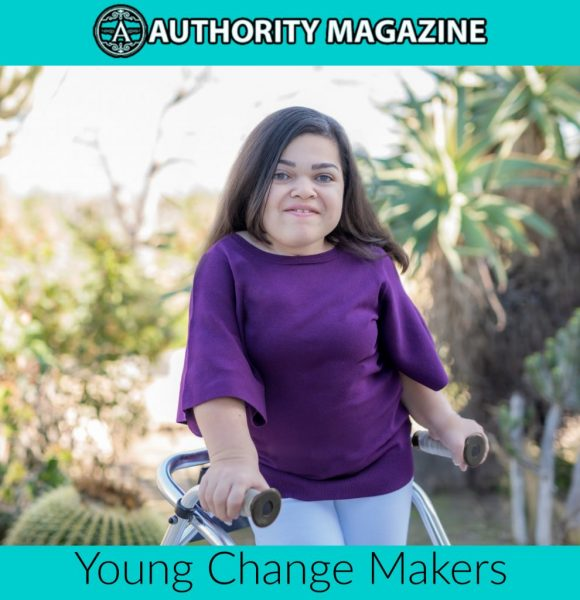 Michelle Hopkins in Authority Magazine Young Change Makers Series 2